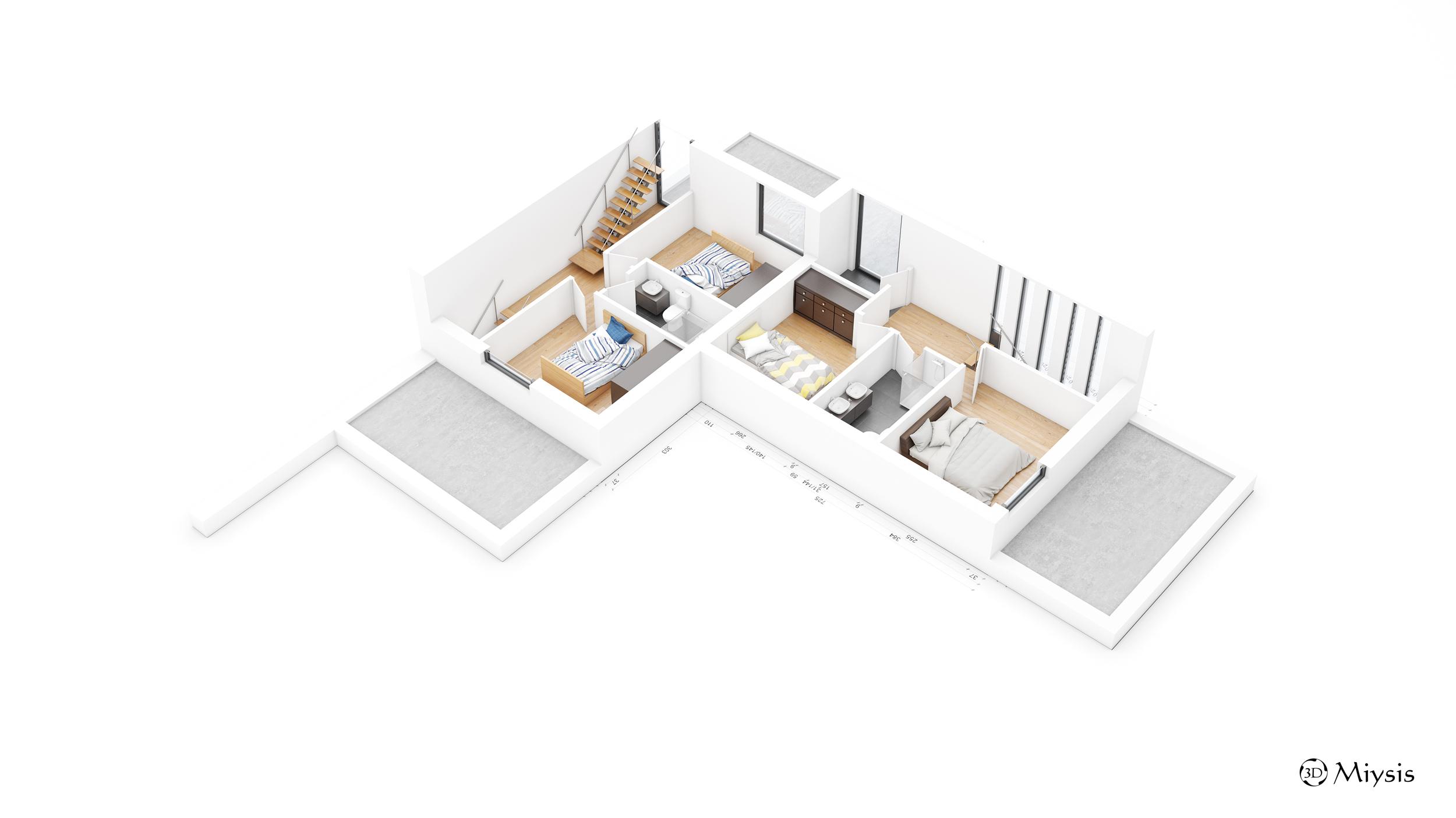 Immobilier concept rue du geer oreye 1er étage des maisons 3 4